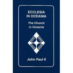 Ecclesia in Oceania - The Church in Oceania