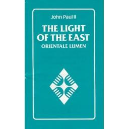 Light of the East Orientale Lumen - John Paul II
