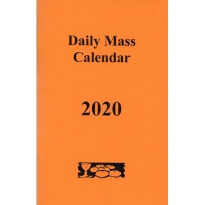 Daily Mass Calendar 2019