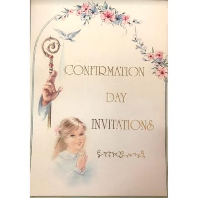 Writing Paper:Communion Girl Invitation
