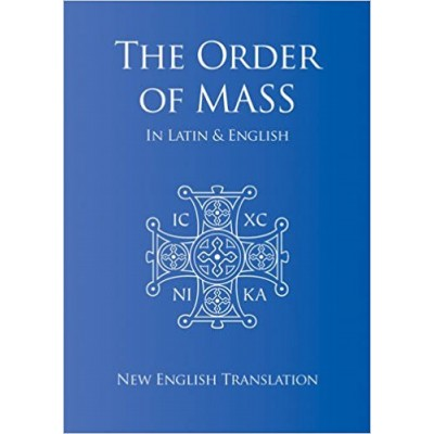 Order of Mass in Latin & English