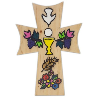 Cross:First Communion Wood 5