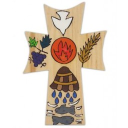 Cross: RCIA Wood 5