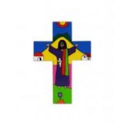 Cross: Risen Christ - Wood 4
