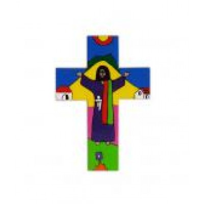 Cross: Risen Christ - Wood 4