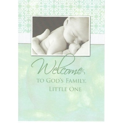 Baptism:Welcome To God's Family,Little One