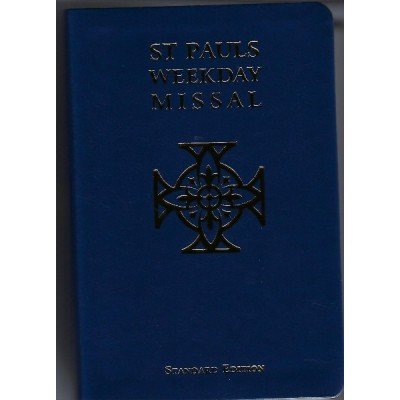 St Pauls Weekday Missal Std Edition Peoples Ed Blue