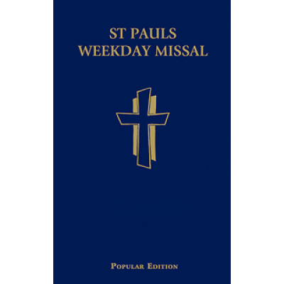 St Pauls Weekday Missal Blue Hardcover