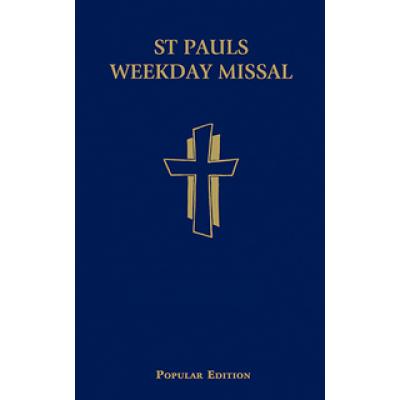 St Pauls Weekday Missal Blue Hardcover