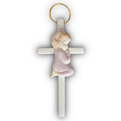Cross Porcelain Girl