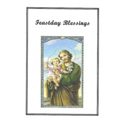Feastday Blessings Mass Card