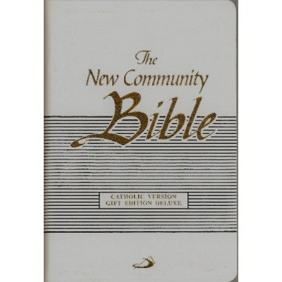 New Community Bible Gift Ed Deluxe White