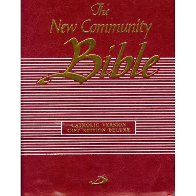 New Communbity Bible Gift Ed Deluxe Red