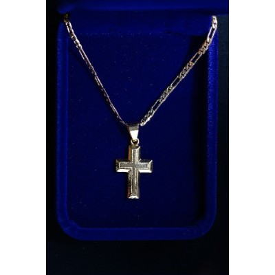 Cross Gold Solid and chain