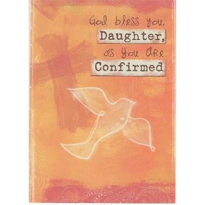Confrimation God Bless you Daughter,