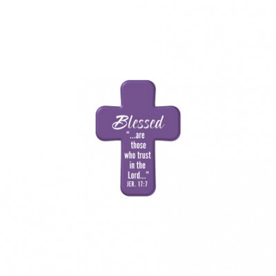 Blessed - Squeezable Pocket Cross