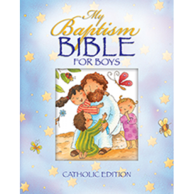My Baptism Bible for Boys ( Blue)