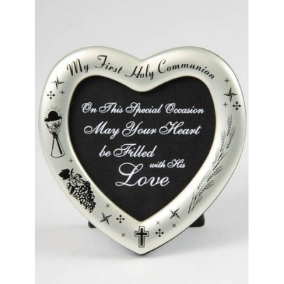 Frame: First Holy Communion - Love Heart Frame