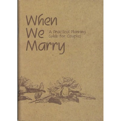 When We Marry Workbook