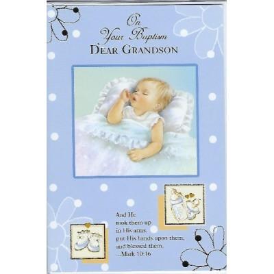 On Your Baptism Dear Grandson