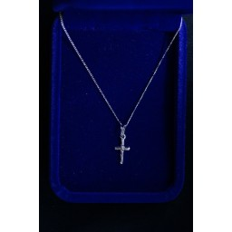 Silver Crucifix Tiny and fine chain