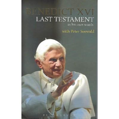 Last Testament Benedict Paperback