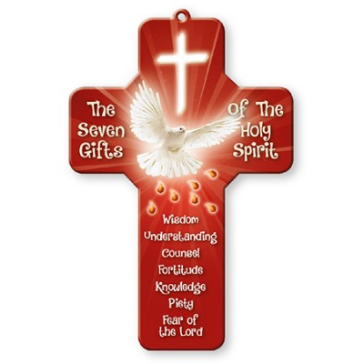 Holy Spirit Cross The Seven Gifts