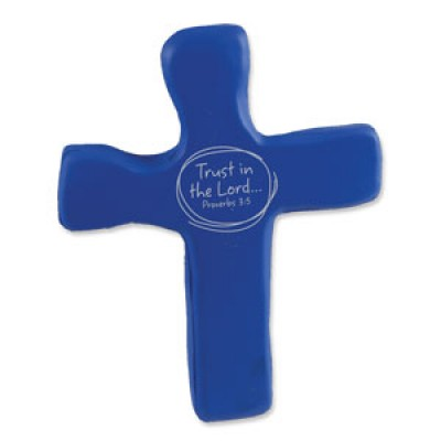 Hold onto the Cross -Trust in the Lord-Palm cross foam