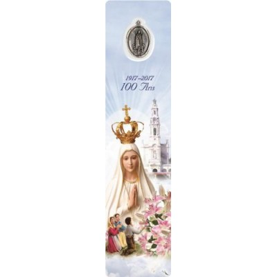Bookmark with Medal Our Lady of Fatima