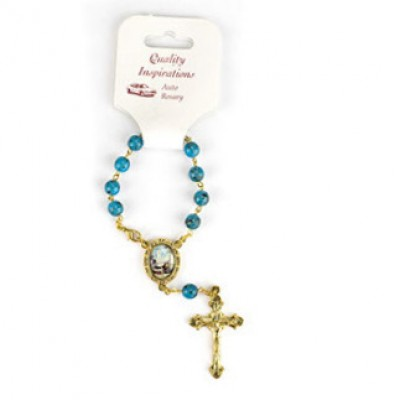 Rosary Bracelet: One Decade - Colour Our Lady of Fatima