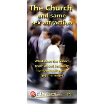 CTS Leaflet - The Church and same sex attraction Pkt 25