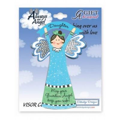 Visor Clip: Angel: Daughter Guardian Angel - Artmetal