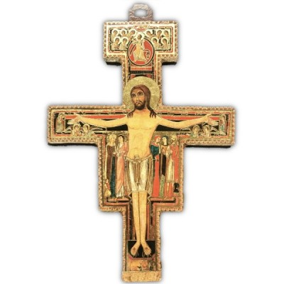 St Damiano Crucifix 20cm