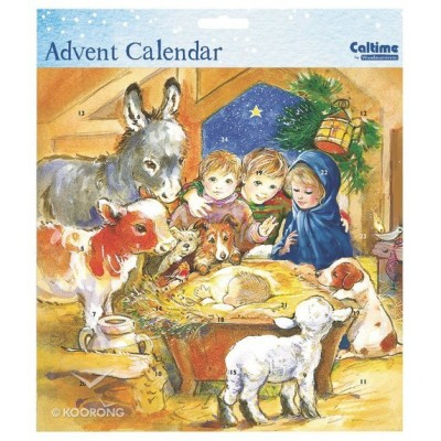 Advent Calendar:Away in the Manger