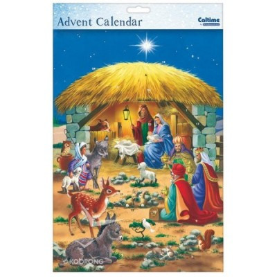 Advent Calendar:Manger Animals 3 Kings