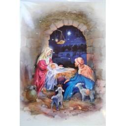 Advent Calendar:The Manger Under the Arch