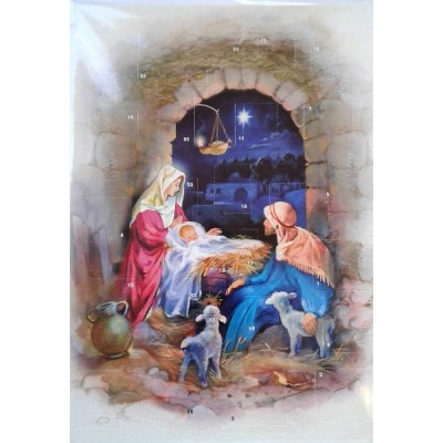 Advent Calendar:The Manger Under the Arch