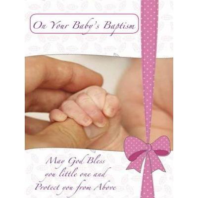 Card:Baptism Girl