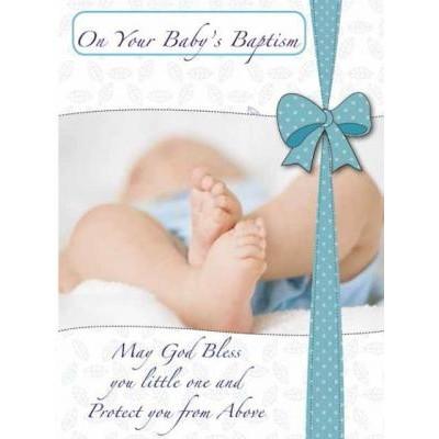 Card:Baptism Boy
