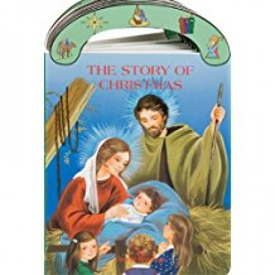 The Story of Christmas carrry-me-along board book