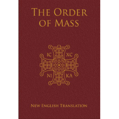 Order of Mass in English Presentation Ed.