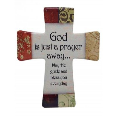 Cross Porcelain:Prayer Away