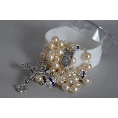Pearl/Crystal Rosary
