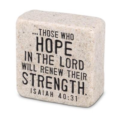 Scripture Stone: Hope