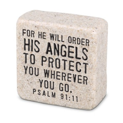 Scripture Stone: His Angels