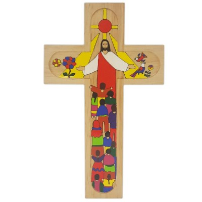 Cross:Christ For All Nations 29.5cms