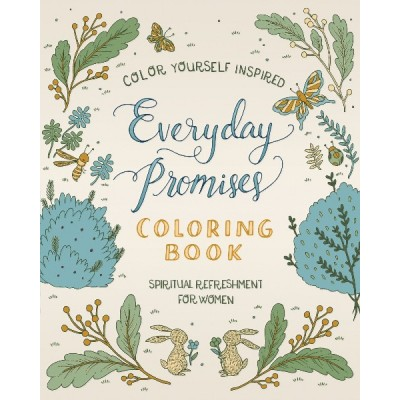 Everyday Promises Coloring Book for Women