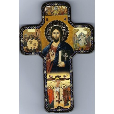 Cross Icon:Christ the Teacher
