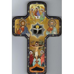 Cross Icon Holy Spirit