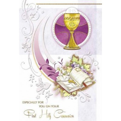 Card:First Holy Communion Chalice